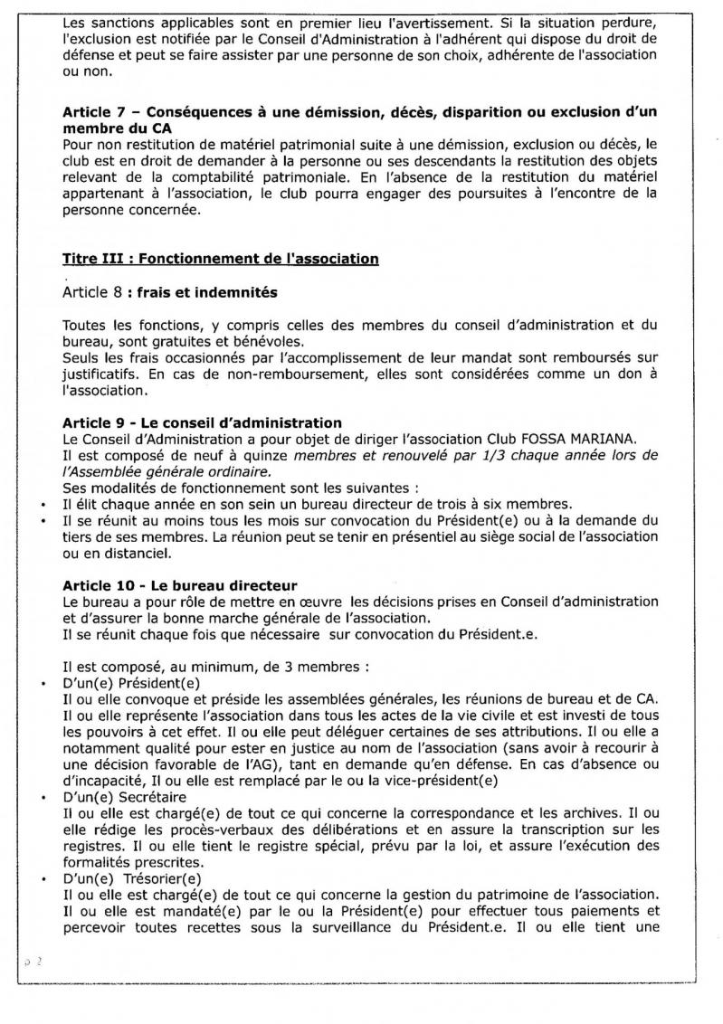 Fm reglement inerieur 2021 annexes 2
